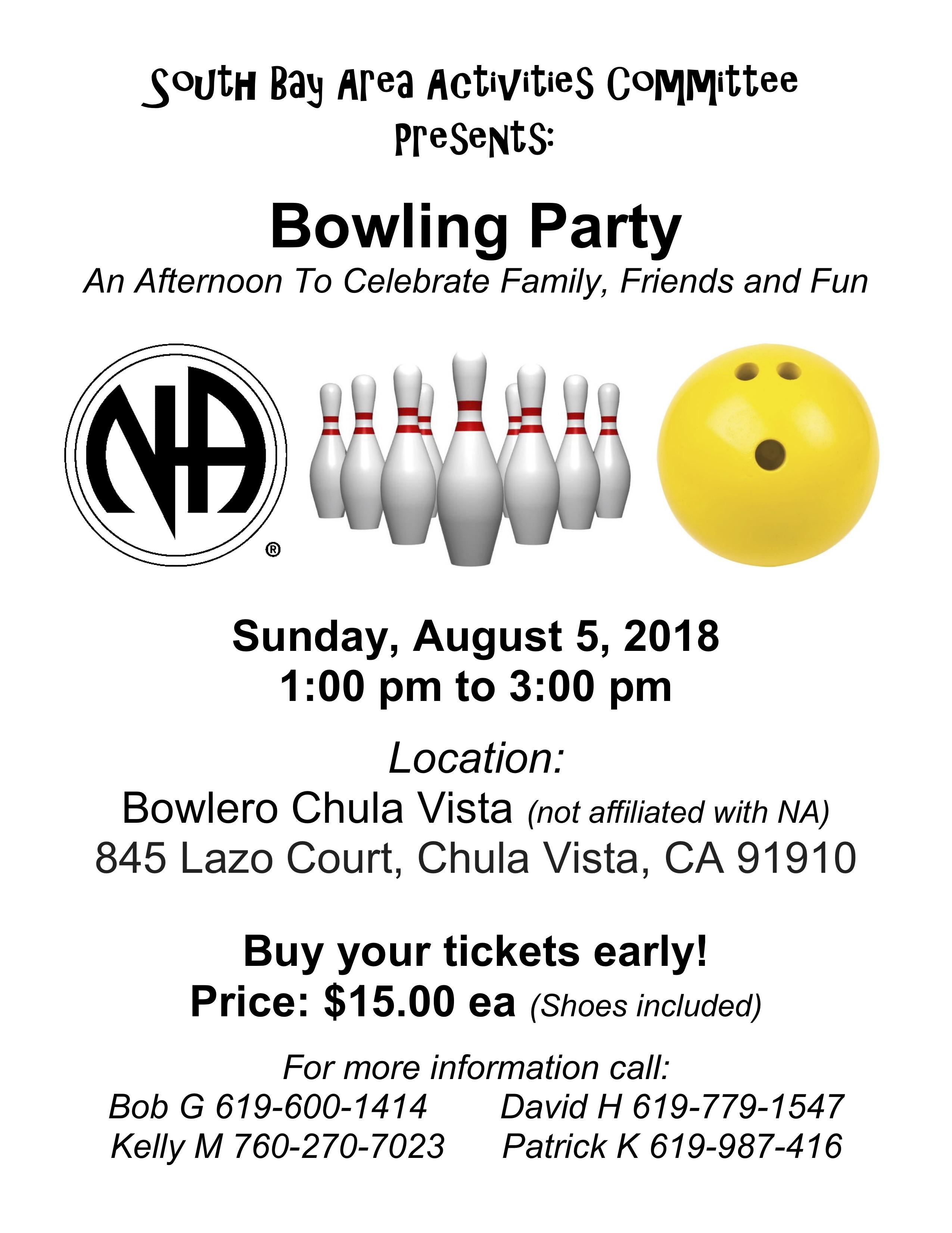 www sandiegona org » South Bay Bowling Party